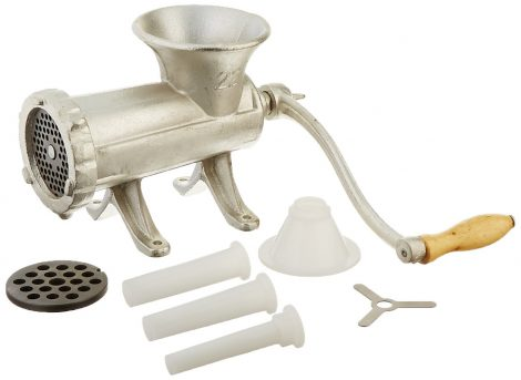 Cast Iron meat grinder with number