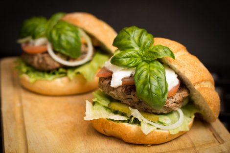 Meat Grinder for Making Burgers