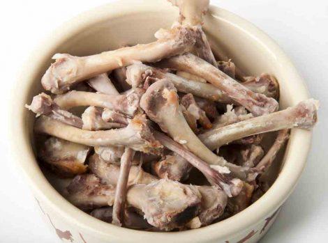 Raw Chicken Bones for Grinding