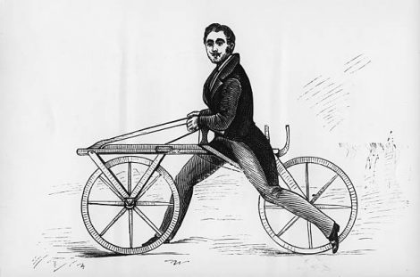 bicycle without pedals