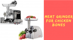 Meat Grinder For Chicken Bones