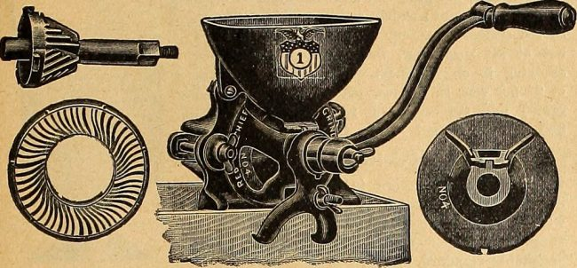 Image result for images of meat grinder that crack corn